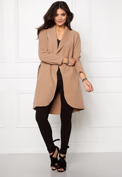 VILA Ida New Coat Dusty Camel Bubbleroom.fi