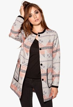 VILA Kantos Jacket Light Grey Melange Bubbleroom.se