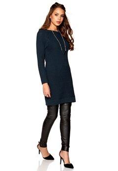 VILA Lighty Knit Dress Total Eclipse Bubbleroom.se