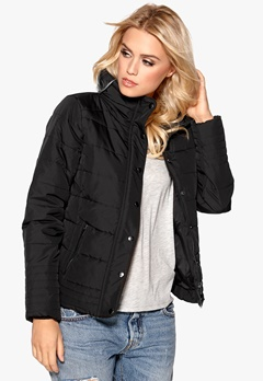 VILA Lonar New Padded Jacket Black Bubbleroom.se