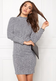 VILA Nalas Turtleneck Dress Ebony Bubbleroom.se