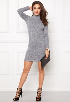 VILA Nalas Turtleneck Dress Ebony Bubbleroom.fi