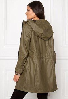 VILA Raina Coat Ivy Green Bubbleroom.se