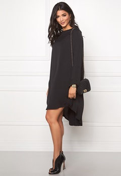 VILA Samina Dress Black Bubbleroom.se