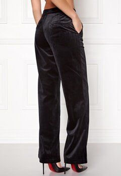 VILA Tamiko pants Black Bubbleroom.se
