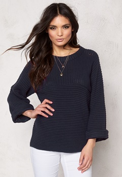 VILA Tant Knit Top Total Eclipse Bubbleroom.se