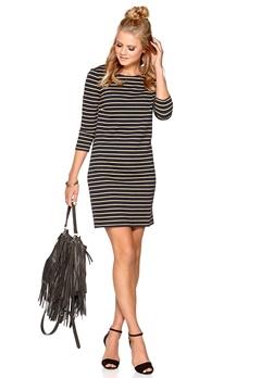 VILA Tinny 3/4 Sleeve Dress Total Eclipse Bubbleroom.se