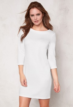 VILA Tinny New Dress White Bubbleroom.se