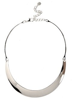 Pieces Vivo Necklace 2 Silver Colour Bubbleroom.se