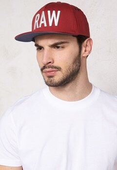 G-STAR Vontry Snapback Cap 5298 Dry Red Bubbleroom.se