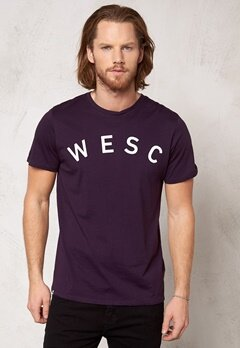 WeSC Coby s/s t-shirt plum perfect 487 Bubbleroom.se