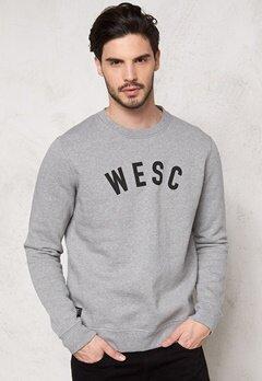 WeSC Crewneck Sweatshirt Grey Melange Bubbleroom.se