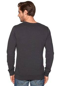 WeSC Intellectual crewneck Spring black 994 Bubbleroom.se
