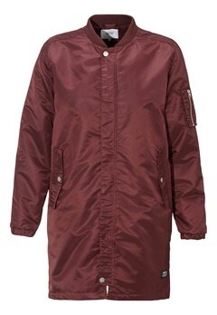 WeSC Reese padded coat Prune Bubbleroom.se