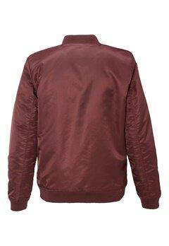 WeSC Rush padded jacket Prune Bubbleroom.se