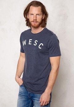 WeSC Sixtus s/s T-Shirt Navy Blazer Bubbleroom.se