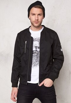 WeSC The Bomber Jacket Black Bubbleroom.se