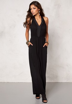 Chiara Forthi Wide-leg Jumpsuit Black Bubbleroom.se