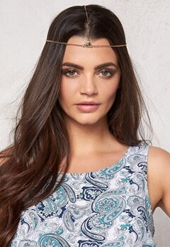 Make Way Zina Headpiece Gold-coloured/Gold Bubbleroom.se