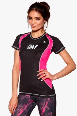 MXDC Ladies running ventilation 0049Black/Pink Bubbleroom.se