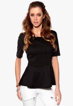 Fransa Diskirt Top Black Bubbleroom.se