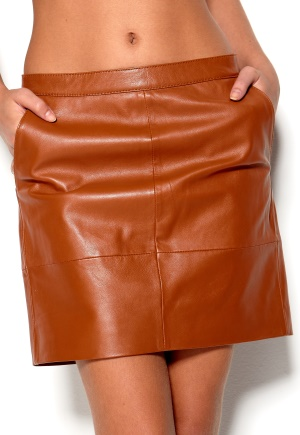 Mexx - Leather Skirt