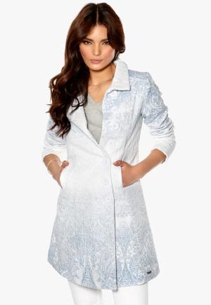 Desigual Chaq Susi Coat Blanco Bubbleroom.se