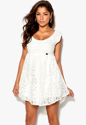 Chiara Forthi Giulia Lace Dress White ( krämvit) Bubbleroom.se