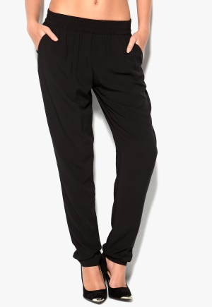 VILA Mask Pant Black Bubbleroom.se