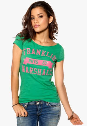 Franklin & Marshall T-shirt Pitch Green Bubbleroom.se