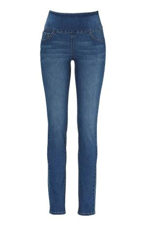TrulyMine Jeans Mediumblue Bubbleroom.se