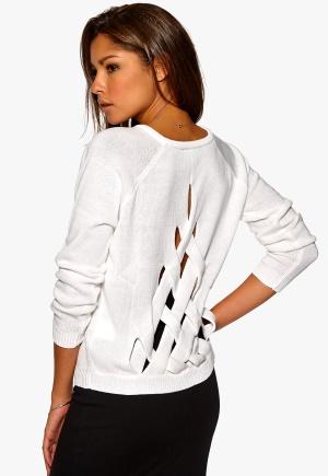 Chiara Forthi Lini Cutout Knit White Bubbleroom.se
