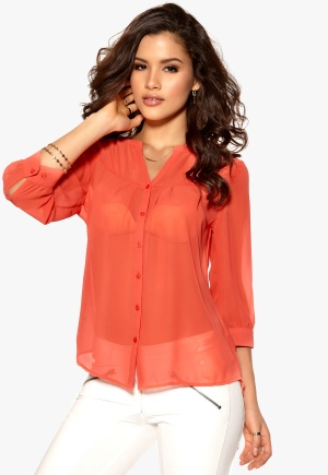 Mexx Blouse 621-Hot Coral Bubbleroom.se