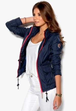 TOMMY HILFIGER DENIM Veronique Field Jacket Dark Blue Bubbleroom.se