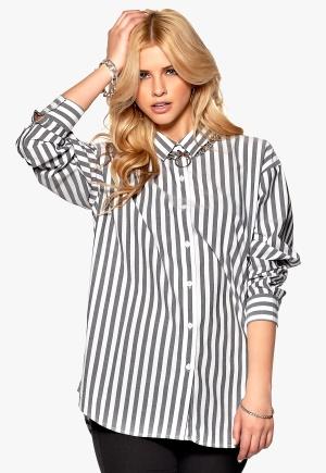 CHEAP MONDAY Shelly Shirt Black/White Bubbleroom.se