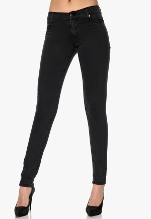 CHEAP MONDAY Tight Jeans Very Stretch Black Bubbleroom.se