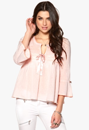 Odd Molly Remix Blouse Lite Pink Bubbleroom.se