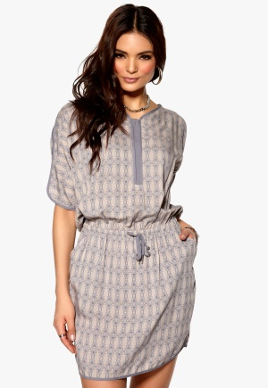SELECTED FEMME Urda Dress Folkstone Grey Bubbleroom.se