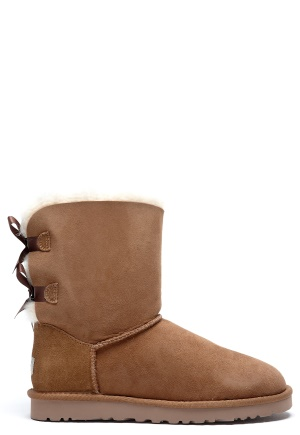 UGG Australia Bailey Bow Chestnut Bubbleroom.se