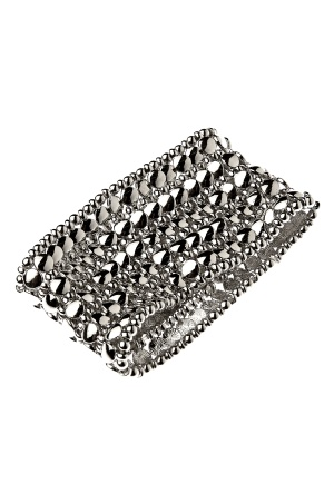 Pieces Louisa Bracelet Silver Colour 2 Bubbleroom.se