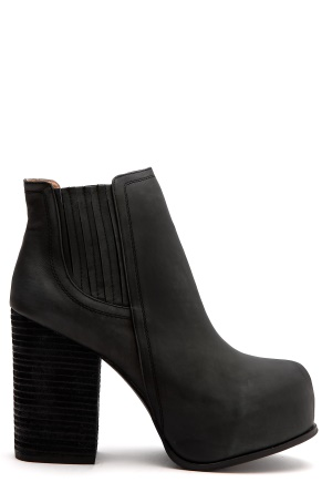 Jeffrey Campbell Trango Black Bubbleroom.se