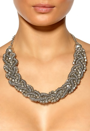 SELECTED FEMME Agnes Necklace Silver Bubbleroom.se