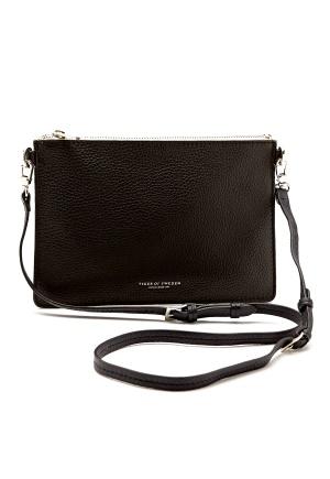TIGER OF SWEDEN Ermellini Leather Bag 050 Black Bubbleroom.se