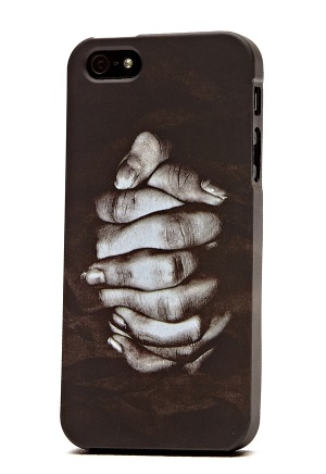 Linnea Frank Iphone 5 Case BlackPrint Bubbleroom.se