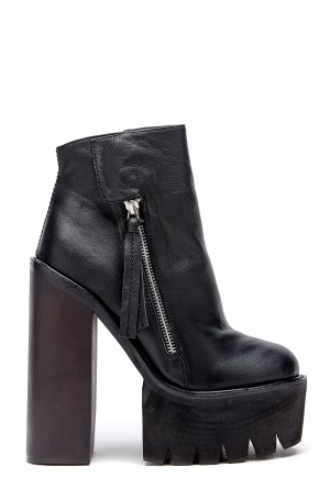 Jeffrey Campbell Lynch Shoes Black Bubbleroom.se