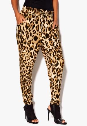 Chiara Forthi Printed Joggers Leopard Bubbleroom.se
