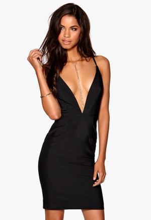 Make Way Ines Dress Black Bubbleroom.se