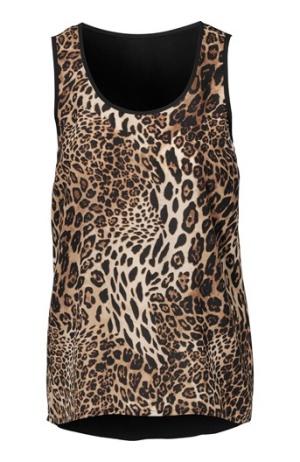 Amy´s Stories Blus Leopard Bubbleroom.se