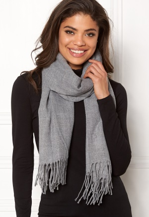 ONLY Anna Weaved Scarf Light Grey Melange One size thumbnail