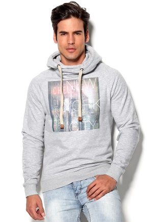 Blend Sweatshirt 70813 Stone Mix Bubbleroom.se